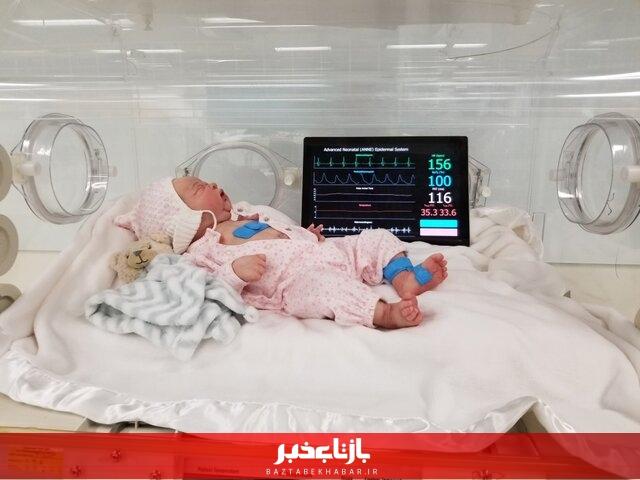 پای صحبت اولین مادر کرونایی که نوزادش را سالم بدنیا آورد