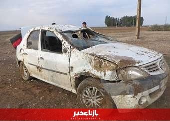 مصدومیت هفت نفر در پی تصادف در اتوبان تهران-قم