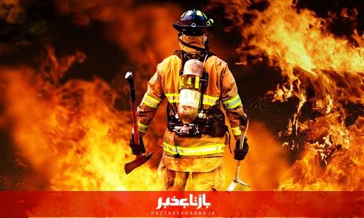 آتش سوزی در بیمارستان درحال ساخت قم مهار شد