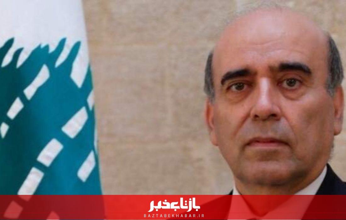 تست کرونای وزیر خارجه لبنان مثبت اعلام شد