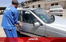ماشین دزدهای قم در دام پلیس