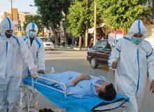 آمار فوتیهای کرونا، امروز ۱۴۰۰/۰۲/۱۶