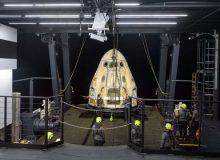 """سفر هیجانانگیز ۴ مسافر عادی با """"کرو دراگون"""" به مدار زمین"""