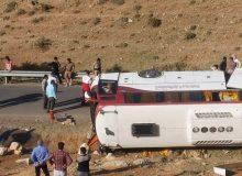 جزئیات واژگونی اتوبوس خبرنگاران در آذربایجان غربی