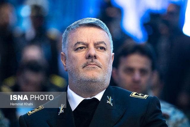امیر دریادار خانزادی:نمایش اقتدار پیام اصلی حضور ناوگروه نیروی دریایی ایران در روسیه بود