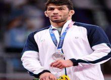 تبریک عضو هیئت رئیسه فدراسیون کشتی برای کسب مدال نقره یزدانی در المپیک