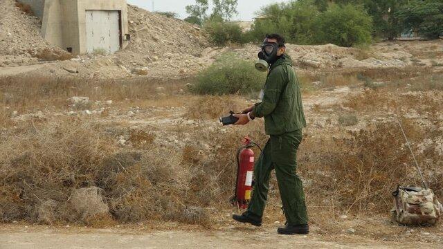 تمرین تخصصی پدافند پرتویی در منطقه پدافند هوایی جنوب برگزار شد