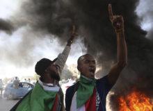 ادامه اعتراضات ضد دولتی در سودان