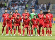 ترکیب تیم های فوتبال پرسپولیس و فولاد اعلام شد