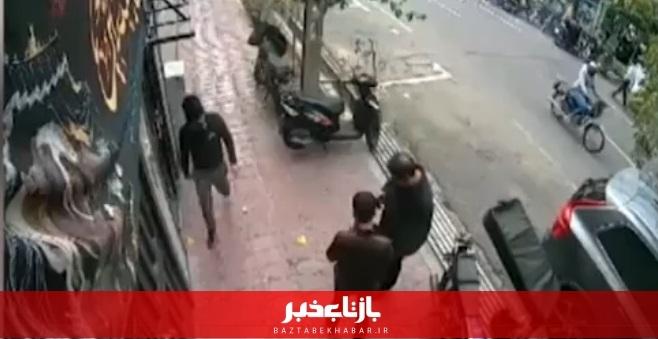 دستگیری زورگیران حرفه ای گوشی قاپ