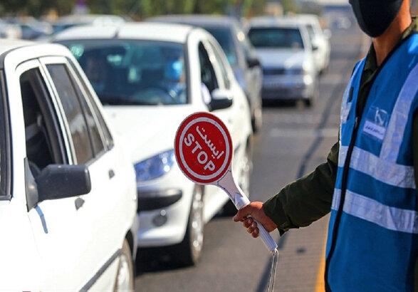 جریمه ۲۷۰۰ خودروی بومی زنجان در ایام محدودیت عید فطر