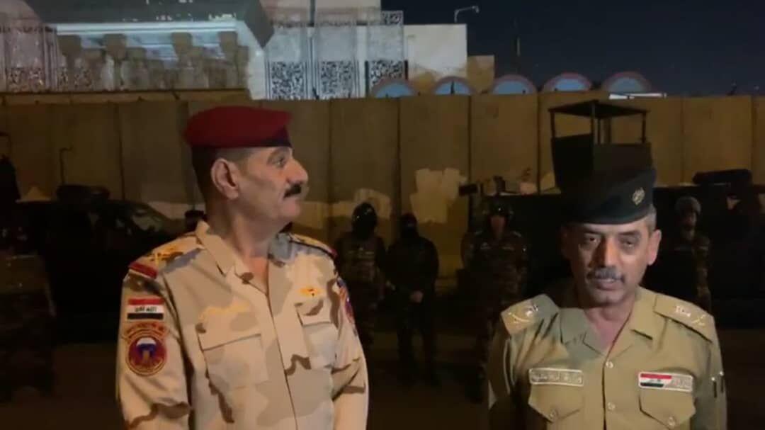 فرمانده نظامی عراقی: امنیت در کربلا و اطراف کنسولگری ایران برقرار شد