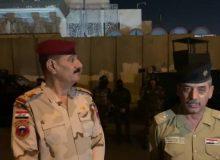 فرمانده نظامی عراقی: اوضاع کربلا و اطراف کنسولگری ایران تحت کنترل است