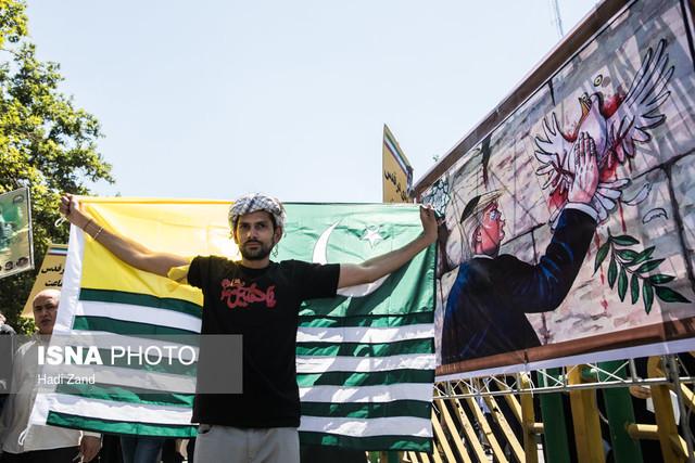 فضاسازی ضدصهیونیستی شهر تهران از میدان امام حسین(ع) تا میدان آزادی