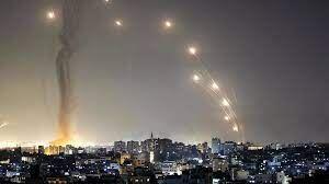 منطقه نظامی سدیروت زیر آتش موشکهای گروههای مقاومت