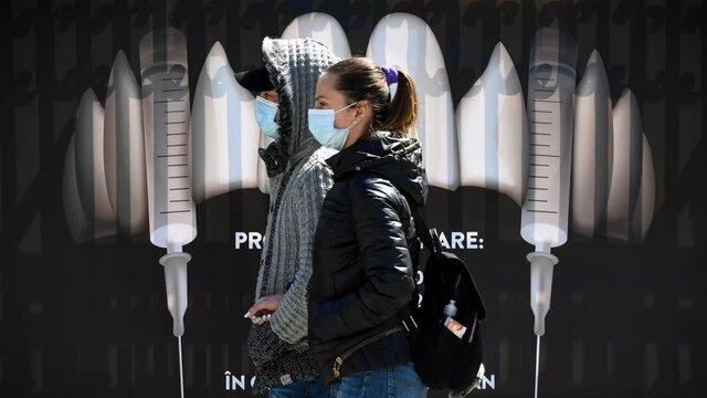 واکسیناسیون کرونا در قلعه دراکولا