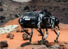 اولین ربات چهارپای مریخی+ فیلم