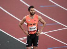 سریعترین مرد ایران از راهیابی به نیمه نهایی المپیک بازماند + فیلم