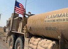 نیروهای آمریکایی محموله جدیدی از نفت سوریه را به سرقت بردند