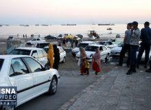 ویدئو / تفریح در ساحل کرونایی بندرعباس
