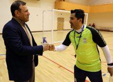 عزیزی خادم: فدراسیون فوتبال تمام و کمال در کنار تیم ملی فوتسال است