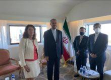 گفتوگوی امیرعبداللهیان با وزیرخارجه سوئد