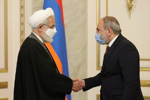 دادستان کل کشور با نخستوزیر ارمنستان دیدار کرد