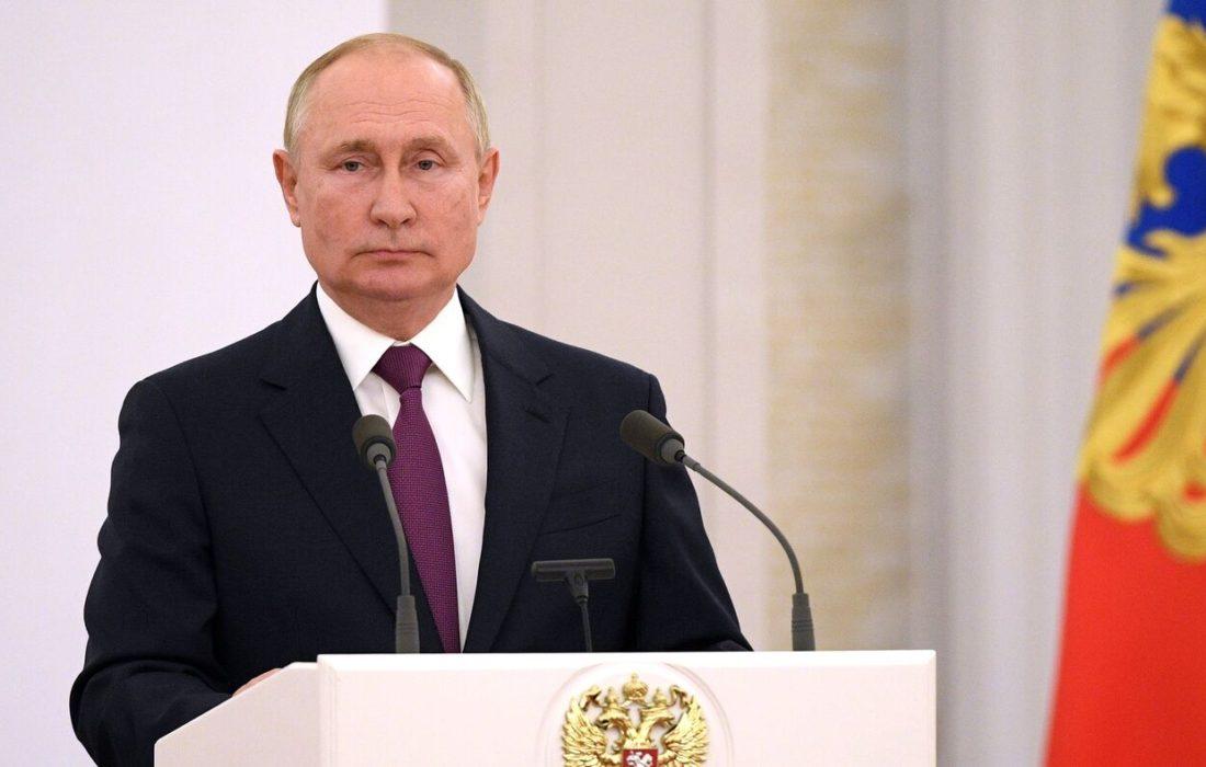 هشدار پوتین در مورد انتقال شبه نظامیان از سوریه و عراق به افغانستان